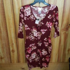 LA gypsy rue 21 NWT Floral Dress